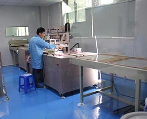 导光板生产企业华光源生产车间