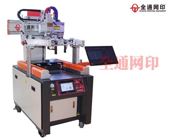 深圳市高精密CCD视觉定位丝印机