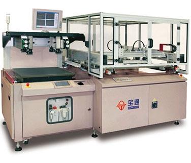 全自动视觉对位丝网印刷机