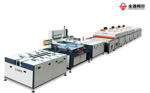 广州全自动玻璃丝印机