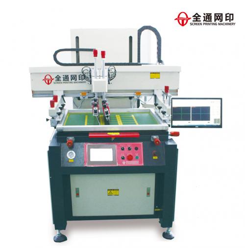 CCD高精密立式丝印机