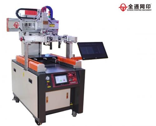 广州高精密CCD视觉定位丝印机