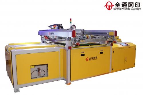 广州全自动四柱跑台丝印机